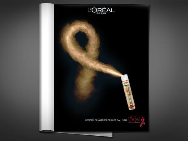 L'Oréal Life Ball Sujet 2012