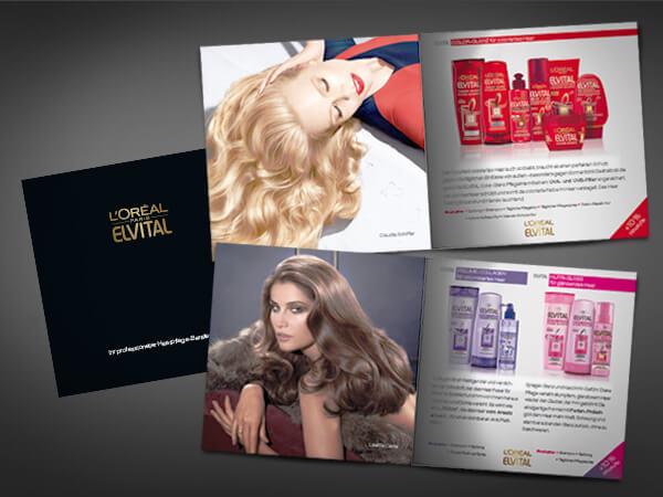 Haarpflege-Beratungsbooklet